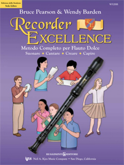 RECORDER EXCELLENCE - Metodo completo per Flauto Dolce
