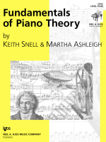 Fundamentals of Piano Theory - Livello 4