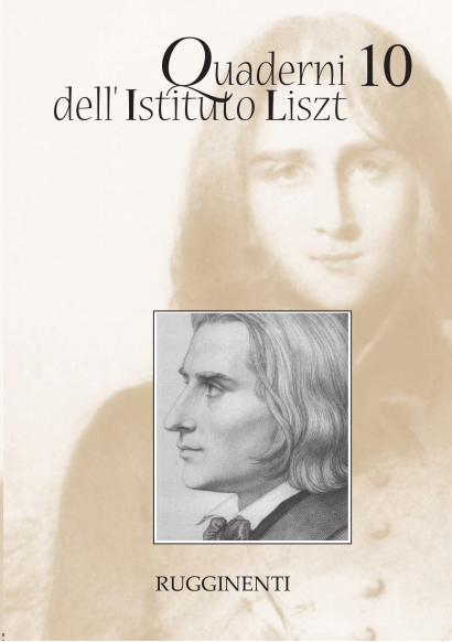 Quaderni dell'Istituto Liszt - Vol.10