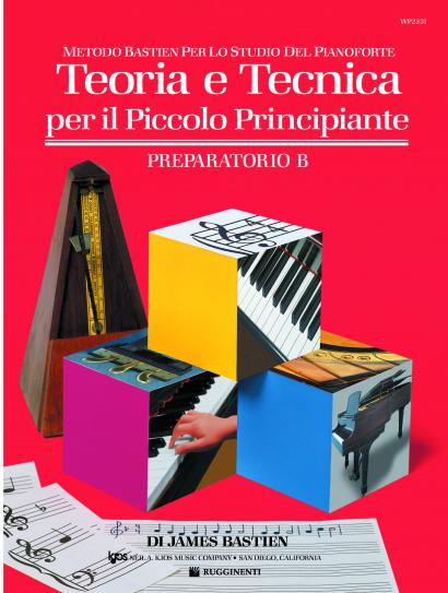 Metodo Bastien, Teoria e Tecnica per il Piccolo Principiante, Prep. B WP233I
