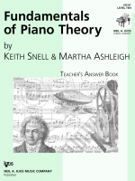 Fundamentals of Piano Theory - Teacher's Answer Book Vol.10
