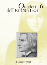 Quaderni dell'Istituto Liszt - Vol.6
