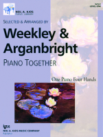 Piano Together - Livello 1 - 1 Pianoforte/4 Mani