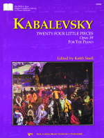 24 Little Pieces, Opus 39 (Kabalevsky)
