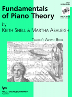 Fundamentals of Piano Theory - Teacger's Answer Book Vol.7