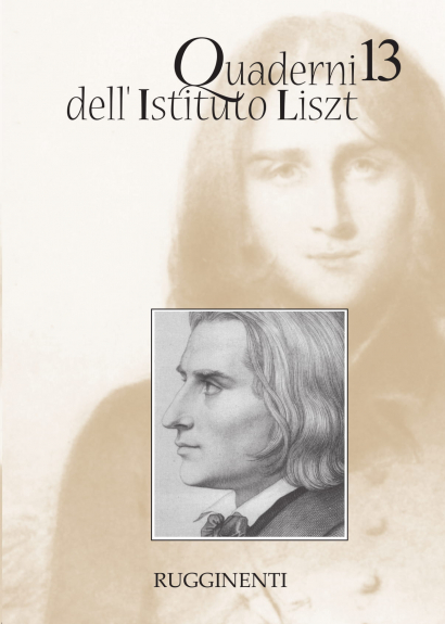Quaderni dell'Istituto Liszt - Vol.13