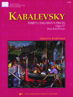 30 Children's Pieces, Opus 27 (Kabalevsky)