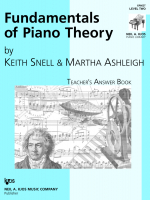 Fundamentals of Piano Theory - Teacher's Answer Book Vol. 2