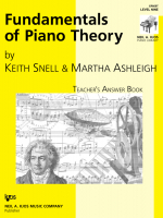 Fundamentals of Piano Theory - Teacher's Answer Book Vol.9